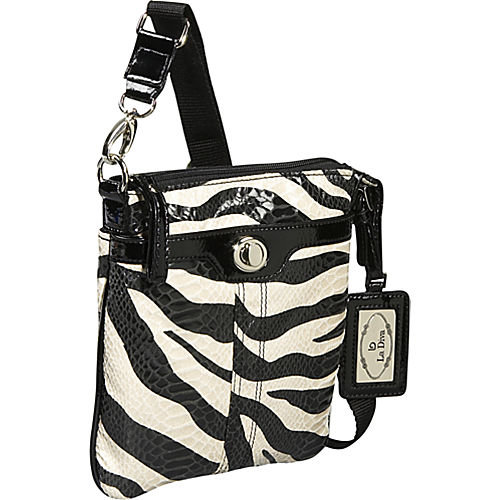 Zebra Cross Body Bag 102