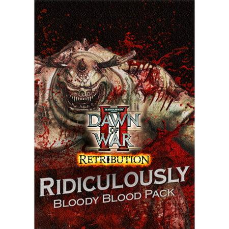 Warhammer 40,000 : Dawn of War II - Ridiculously Bloody Blood Pack DLC, Sega, PC, [Digital Download],