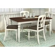 5-Pc Rectangular Dining Table and Chair Set