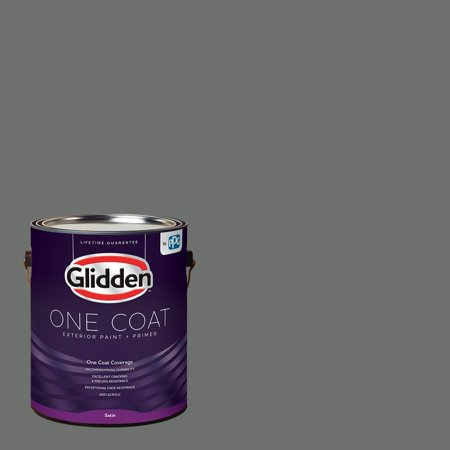 Glidden One Coat, Exterior Paint + Primer, Up in