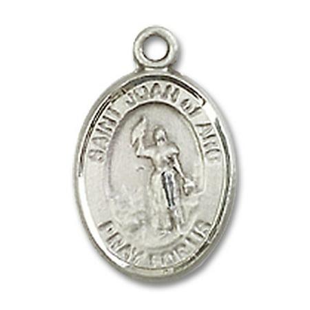St joan of arc medal pendant in sterling silver by bliss mfg st st joan of arc medal pendant in sterling silver by bliss mfg st aloadofball Gallery