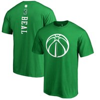Washington Wizards Fanatics Branded St. Patrick's Day Backer Name & Number Bradley Beal T-Shirt - Kelly Green