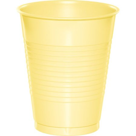 Color Plastic Cups (Touch of Color Plastic Cups, 16 Oz, Mimosa, 20)