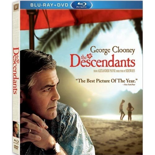 The Descendants (Blu-ray   DVD) (With INSTAWATCH) (Widescreen)