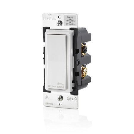 Leviton Evr Green - Leviton DW15S-1BZ Decora Smart Wi-Fi 15A Universal LED/Incandescent Switch