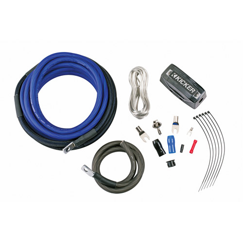 Kicker 8-Gauge Amp Power Kit