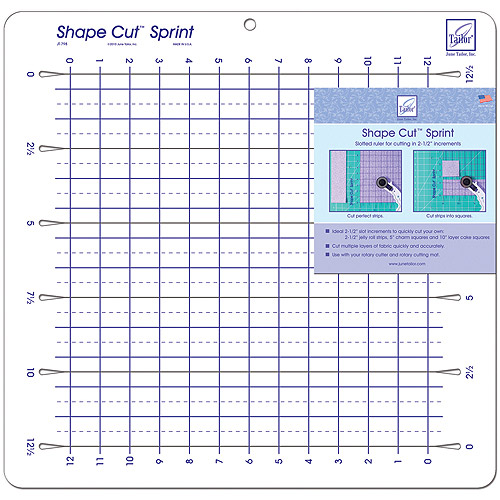 June Tailor Shape Cut Sprint Slotted Ruler