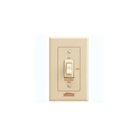 Broan 64V On/Off Switch With Variable Delayed Off - Ivory