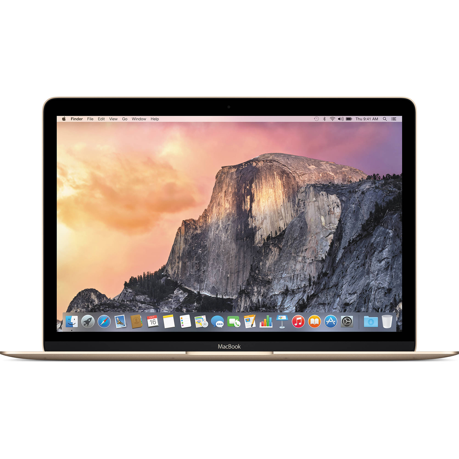 "Apple MacBook 12"" Retina Display Intel Dual-Core 1.1 GHz 256GB Gold MK4M2LLA by Apple"