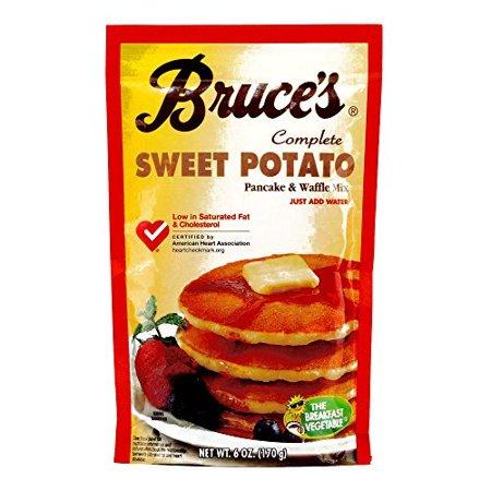 Bruce's Sweet Potato Pancake Mix (6 Items Per Order)