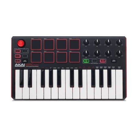 Akai Professional MPK Mini MKII | 25-Key USB MIDI (Best Midi Controller On The Market)