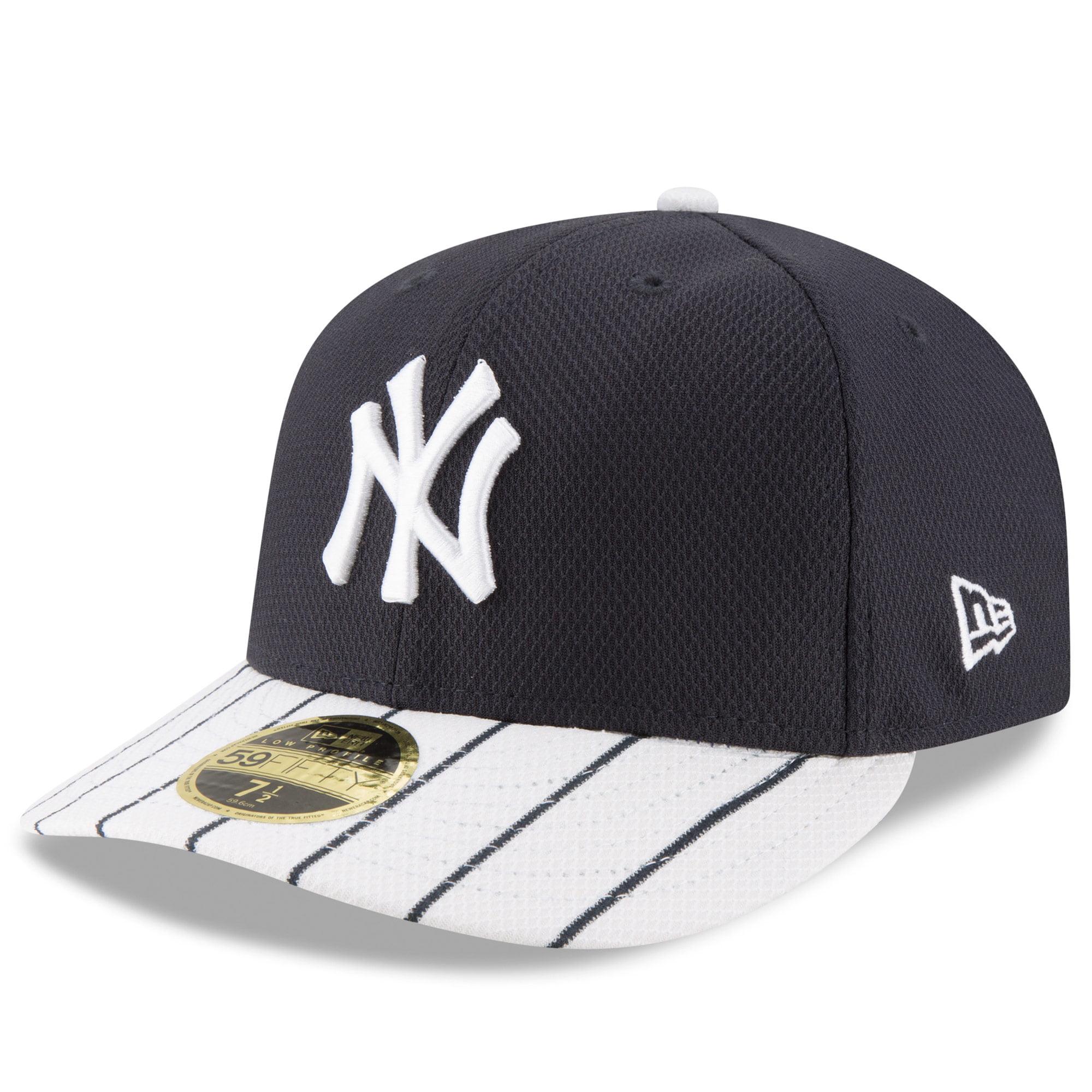 e19bdc3bbf4ecc New York Yankees New Era Diamond Era 59FIFTY Low Profile Fitted Hat -  Navy/White - Walmart.com