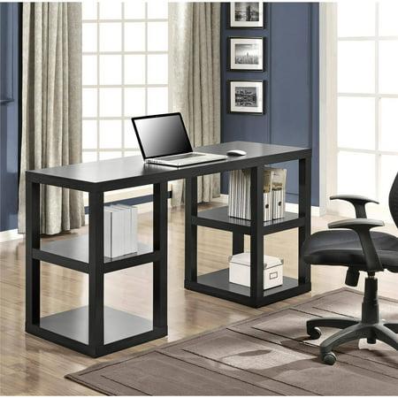 Mainstays Double Pedestal Parsons Desk  Multiple Colors