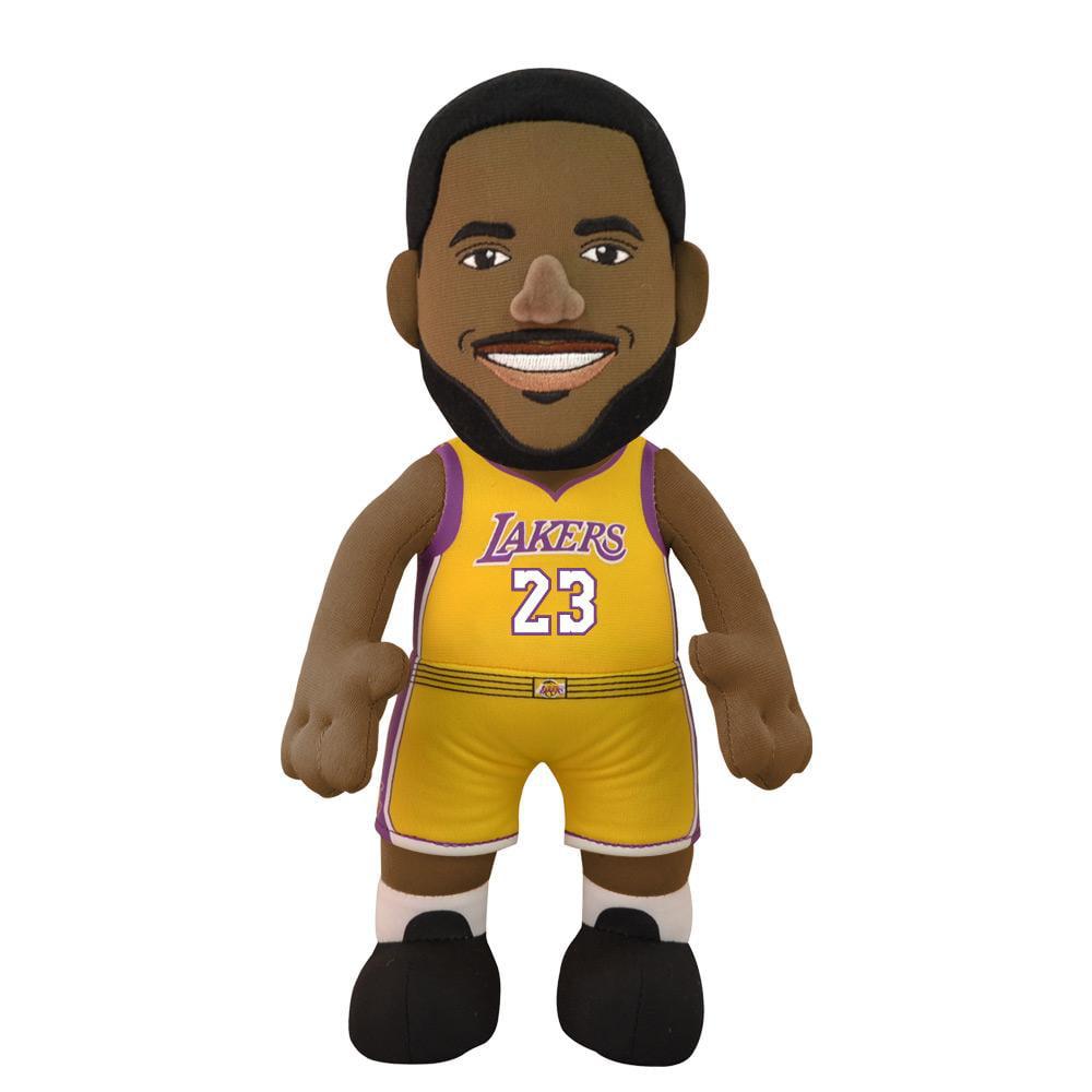 "Los Angeles Lakers LeBron James 10"" Plush Figure"
