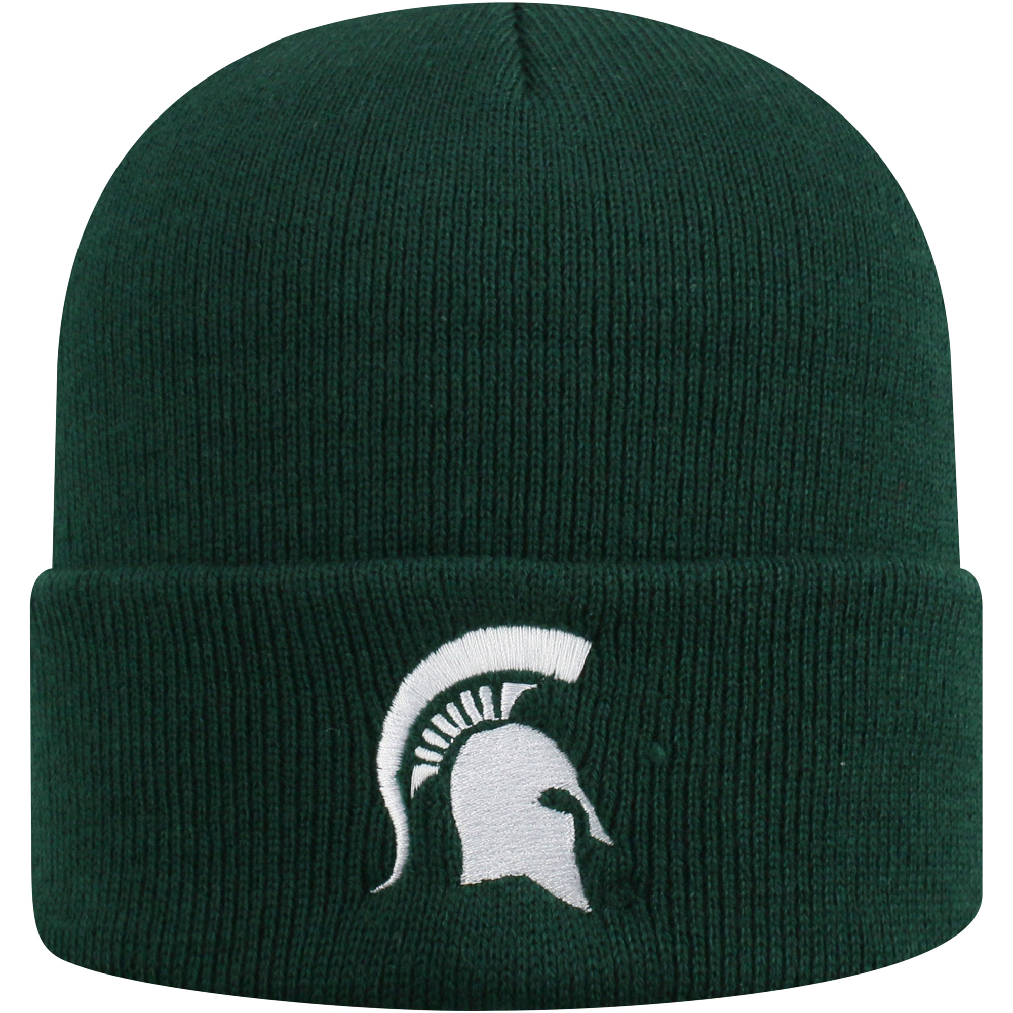 Youth Russell Green Michigan State Spartans Team Cuffed Knit Hat - OSFA