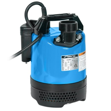 Tsurumi Lb 480A 2 Inch 2 3 Hp Compact Electric Submersible Dewatering Pump