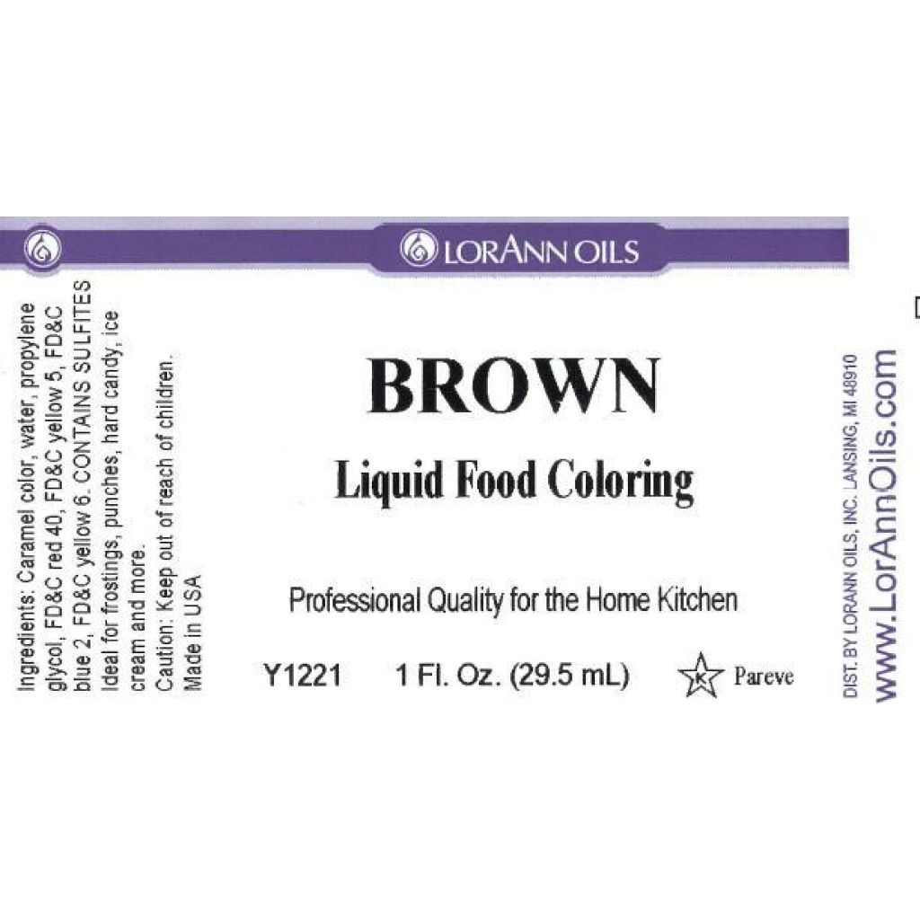 Liquid Food Color 1oz-Black - Walmart.com