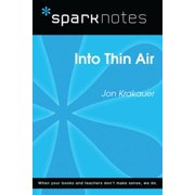 Into Thin Air (SparkNotes Literature Guide) - eBook