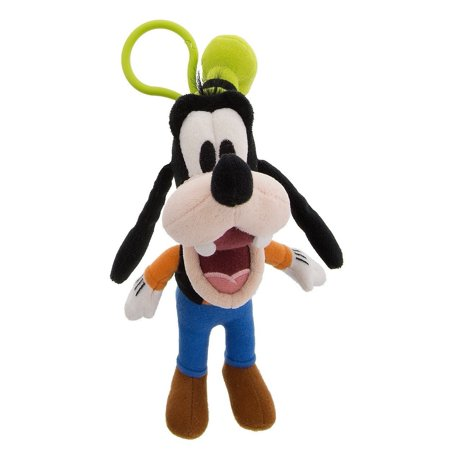 - Disney Parks Goofy Big Face Plush Keychain New with Tags