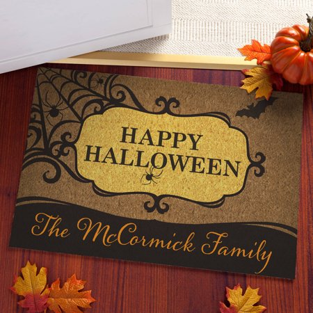 Happy Halloween Personalized Doormat](Halloween Math)