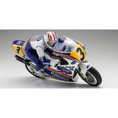 Kyosho Kits (KYOSHO 1/8 HONDA NSR500 Hang On Racer Electric Motorcycle Kit, KYO34932B)
