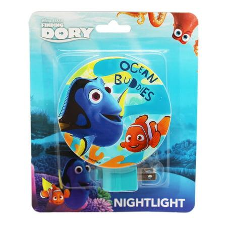 Disney Pixar's Finding Dory Ocean Buddies Shade Children's Night Light (8ight Buggy)
