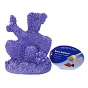 Penn Plax RR1751 Purple Coral Resin Aquarim Figure - 4 inch