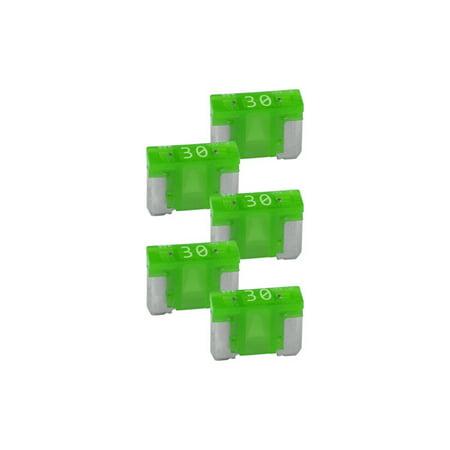 30a Fuse Block Holder - NIPPON ATM-LPM 30A Audiopipe 30A Low Profile Mini Fuse 10 Pack