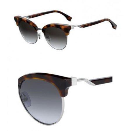 Fendi FF 0229/S 86 Dark Havana Eyewear Sunglasses