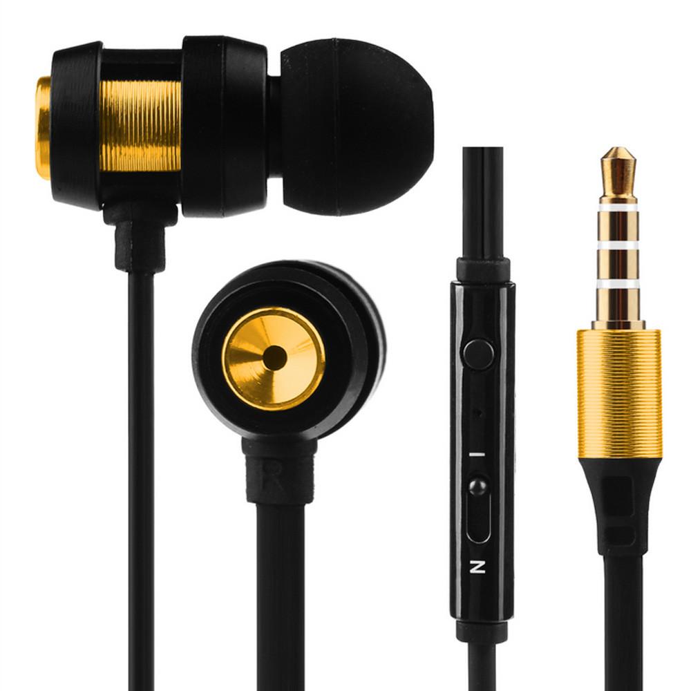 Super Bass Stereo In-Ear Earphone Sport Headset with Headphone For Iphone7 BU