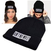 Black Style 8 Girl Boy Beanie Hat Unisex Knit Hip-Hop Ski