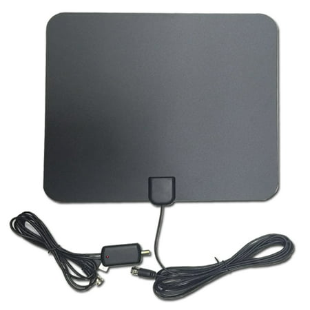 HDTV ANTENNA, Updated 2018 Newest Version Digital HD TV Antenna with  Detachable Amplifier Signal Indoor Antenna Booster and 10ft High  Performance