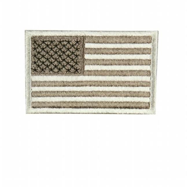 Condor Outdoor COP-230-009R US Flag Patch Reverse, Desert - Pack of 6