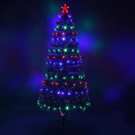 LED Fiber Optic Christmas Tree Color Changing Artificial Chrismas Tree -  Walmart.com - LED Fiber Optic Christmas Tree Color Changing Artificial Chrismas