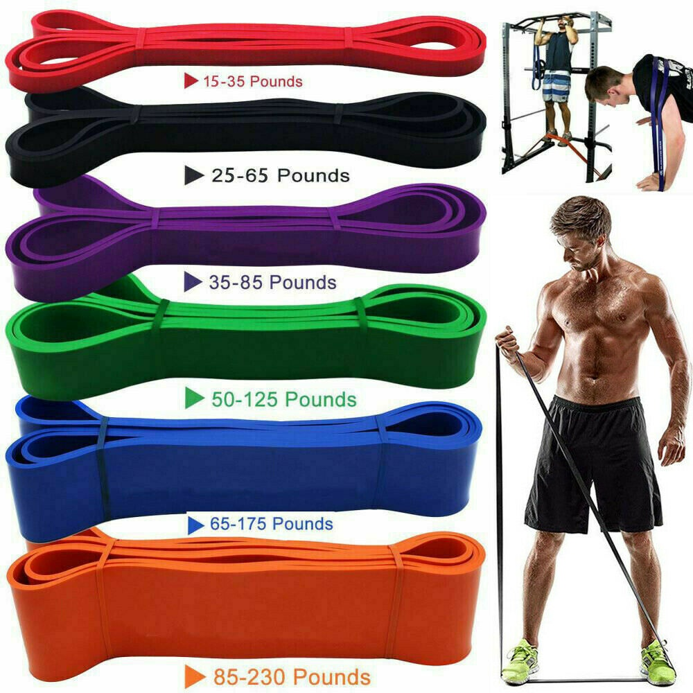 Exercise Strength Resistance Bands Loop Band Weight Training Fitness Crossfit