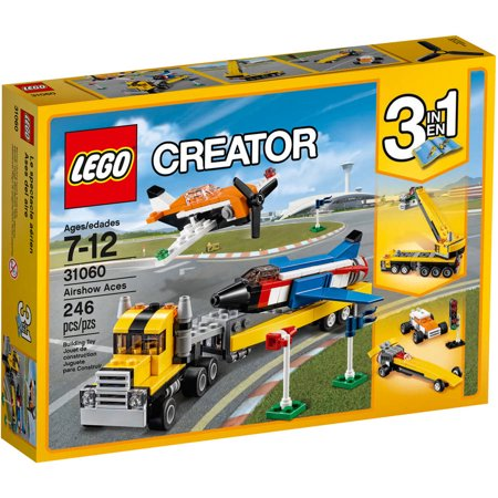 076e76bec36 LEGO Creator Airshow Aces 31060 - Walmart.com