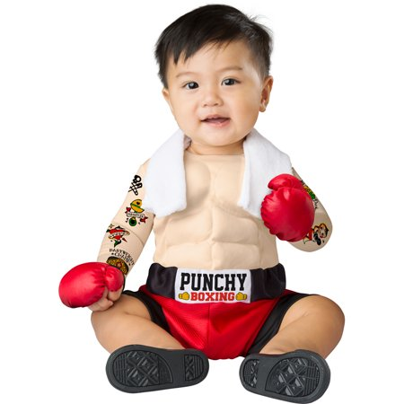 Infant Baby Bruiser Boxer Halloween Costume