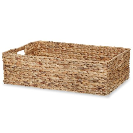 Audrey Natural Rush Utility Basket with In Handles - XXL 23in - Baskets In Bulk