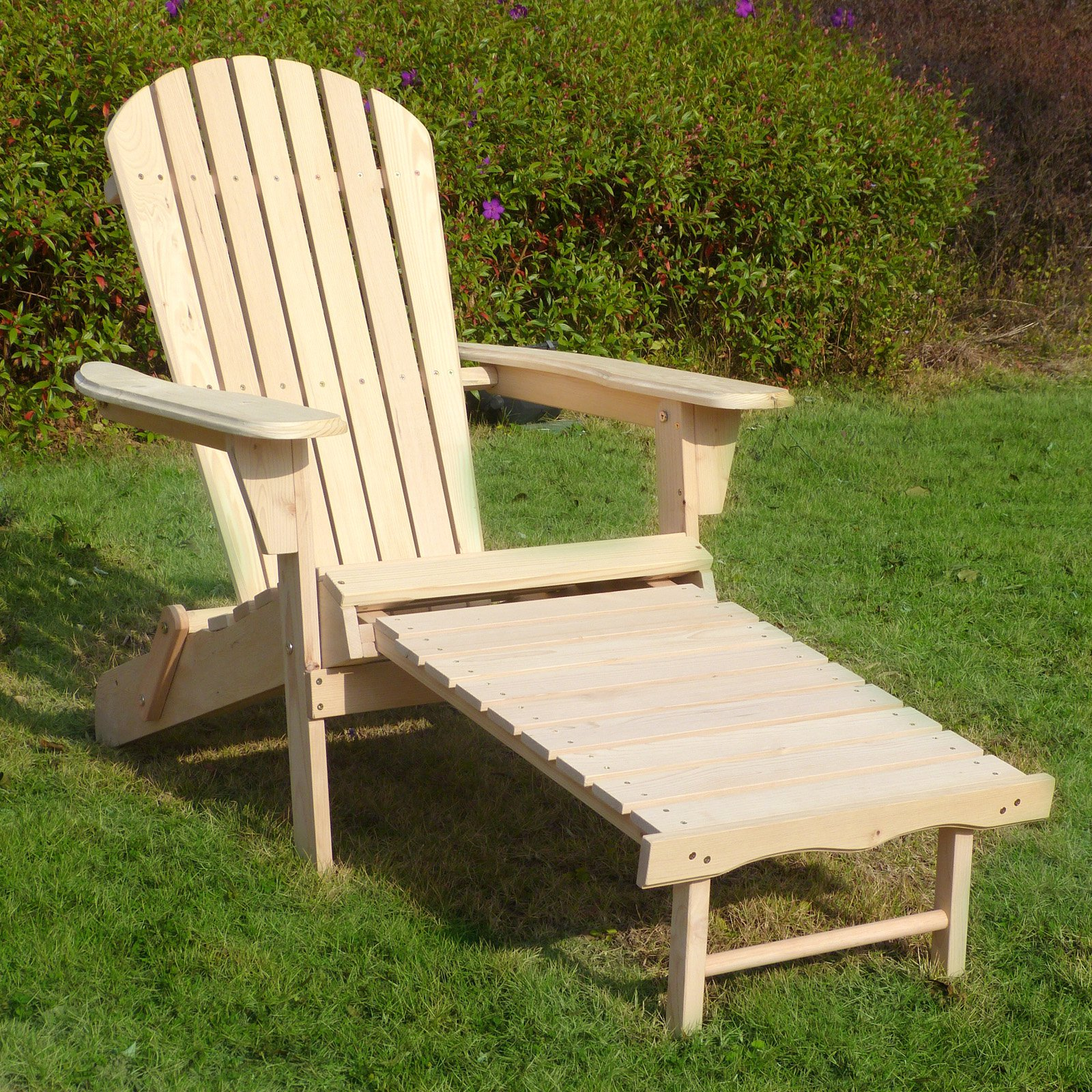 Adirondack Chair Kit with Pullout Ottoman by Merry Products