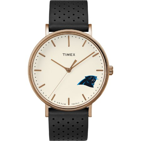 Carolina Panthers Timex Grace Watch - No Size Carolina Panthers Leather