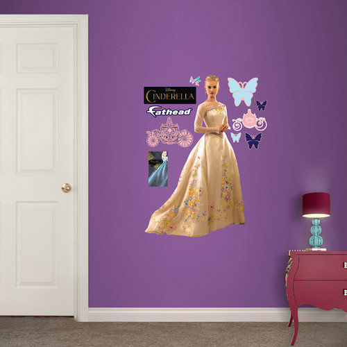 Fathead Disney Cinderella Movie Junior Wall Decal