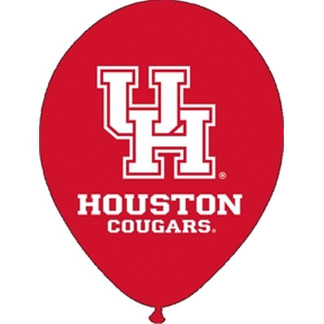 Qualatex 75277 10 Count 11 in. University of Houston Latex Balloon - image 1 de 1