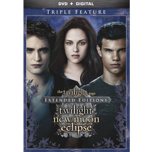 The Twilight Saga: Extended Edition Triple Feature (DVD + Digital Copy) (With INSTAWATCH) (Widescreen)