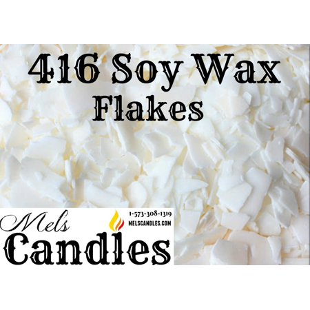 1 Pound Bag of Soy Wax Flakes- Natural Soy 135 (416) Wax a Pure Soy Wax with No Additives.