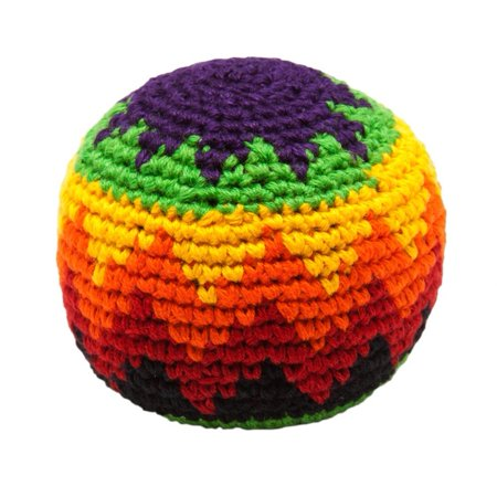 MultiColor Hacky Sack 1 BRIGHT- Assorted Colors and Geometric Patterns