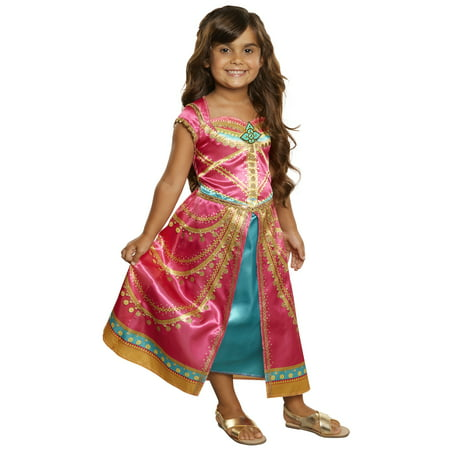 Disney Princess Aladdin Live Action Jasmine Pink Dress