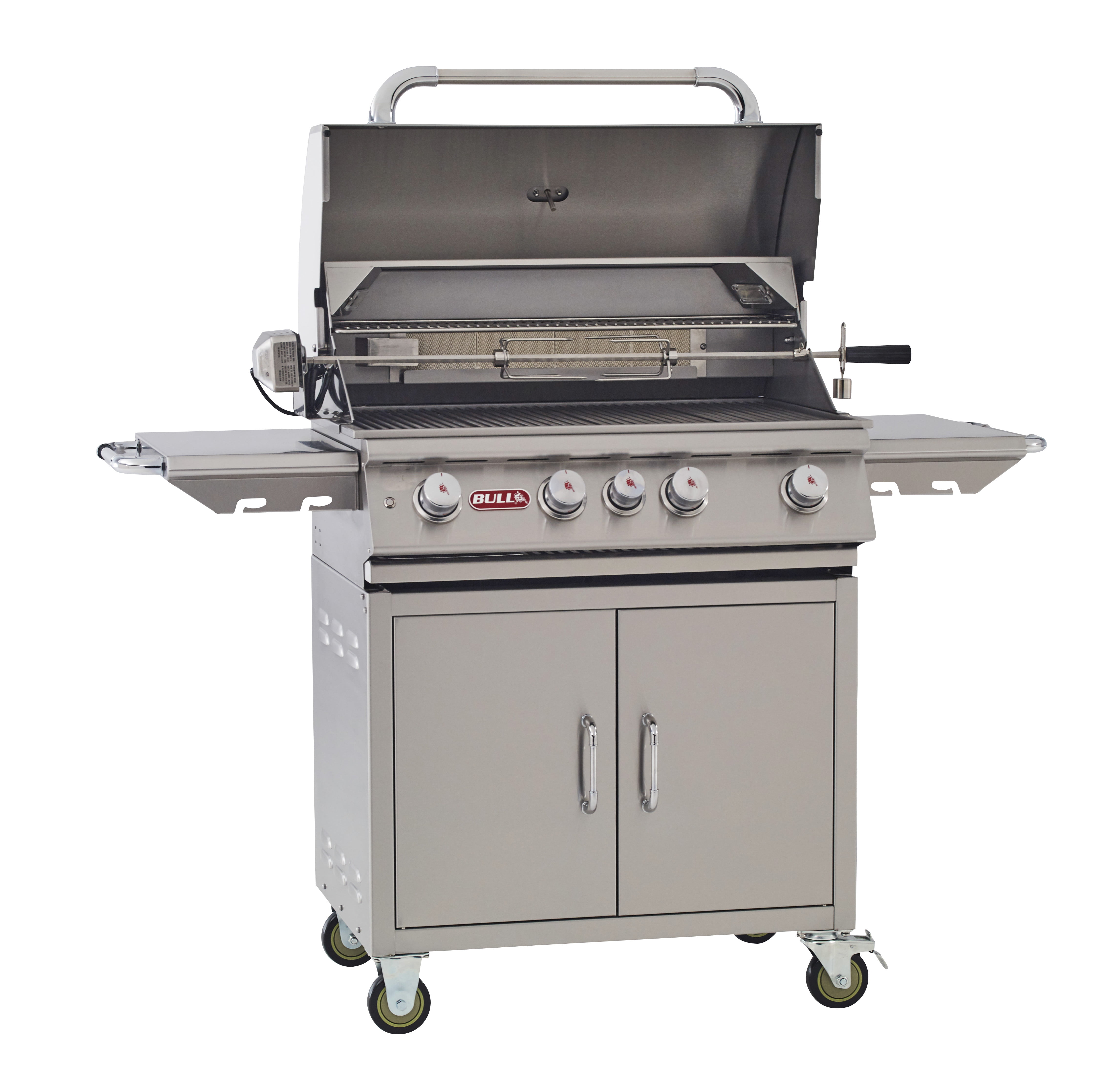 Bull Outdoor Products Angus 4-Burner Propane Gas Grill ...