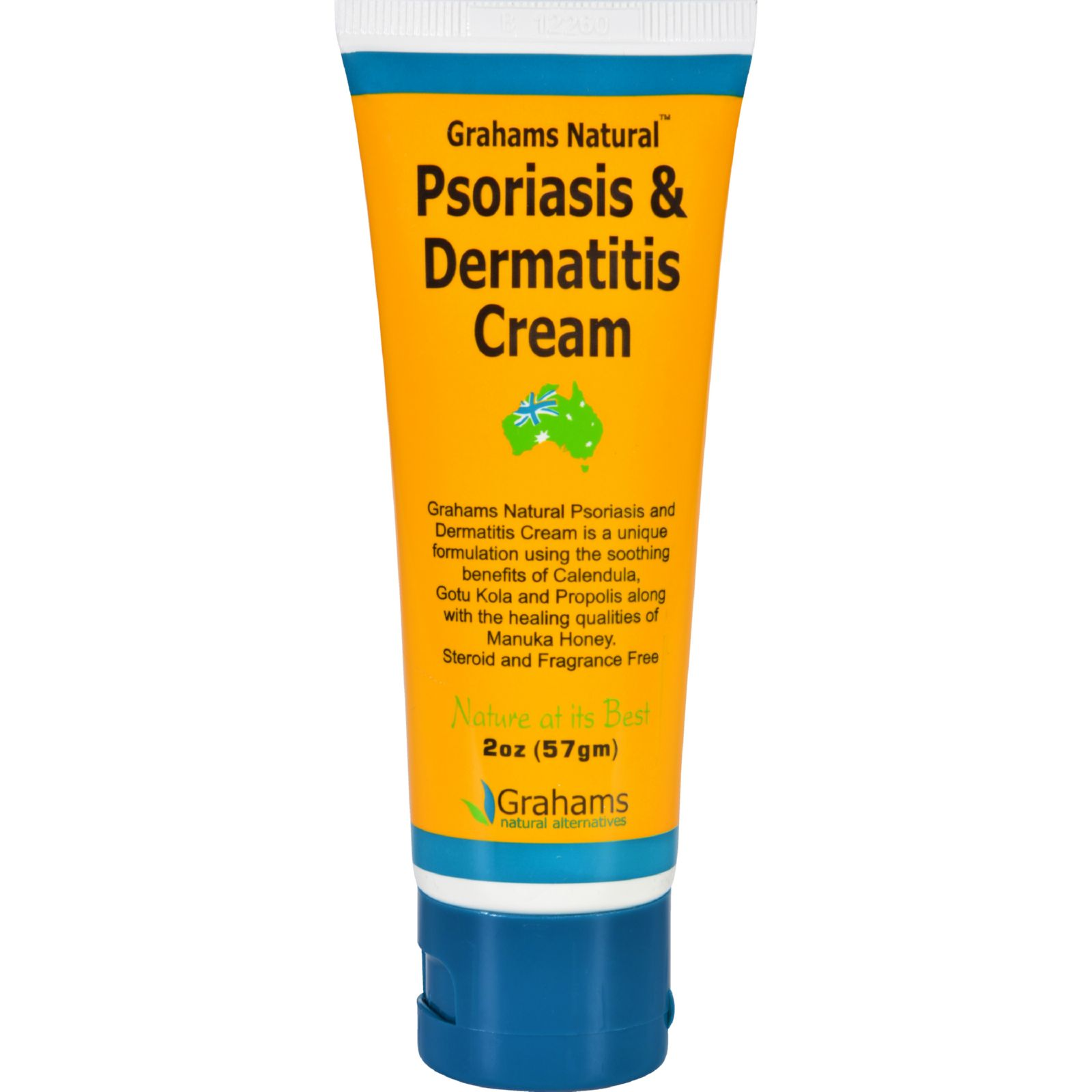 Grahams Natural Psoriasis and Dermatitis Cream - 2 oz