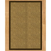Natural Area Rugs Parson Hand Crafted Fudge Area Rug
