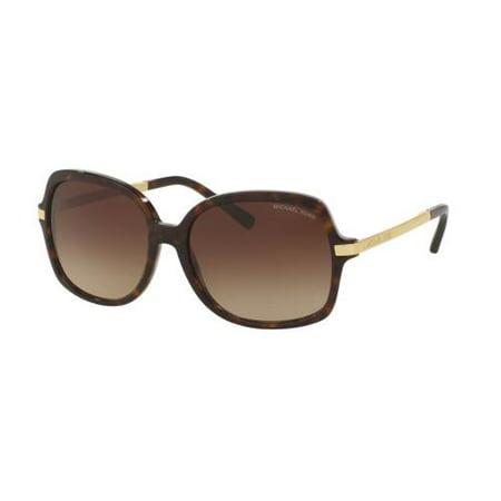 MICHAEL KORS Sunglasses MK2024 ADRIANNA II 310613 Dark Tortoise/Gold 57MM ()